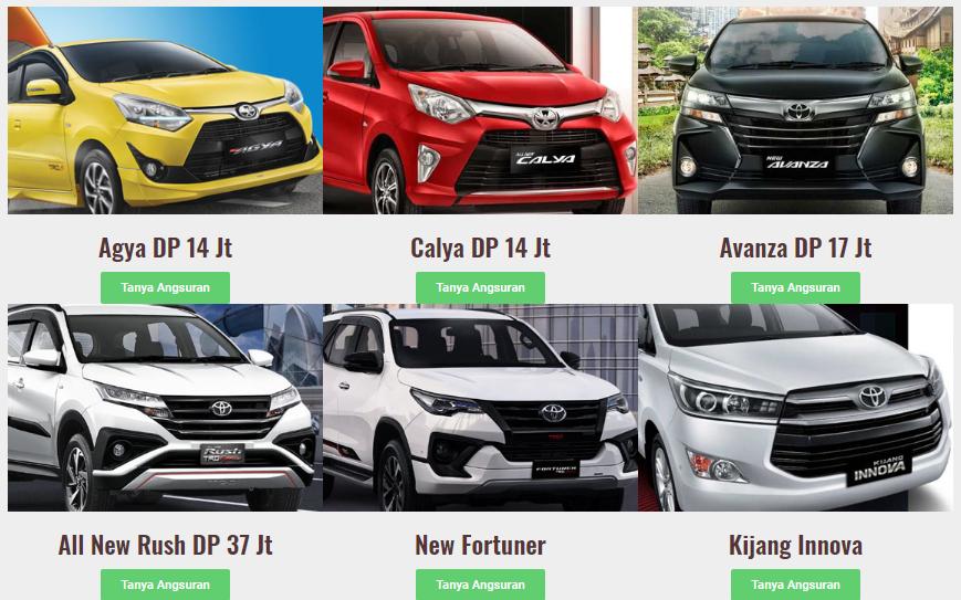 Promo Lebaran Toyota Tangerang