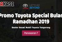 Harga Promo Toyota Tangerang Lebaran 2019
