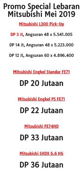 Promo Mitsubishi Bandung Special Lebaran 2019