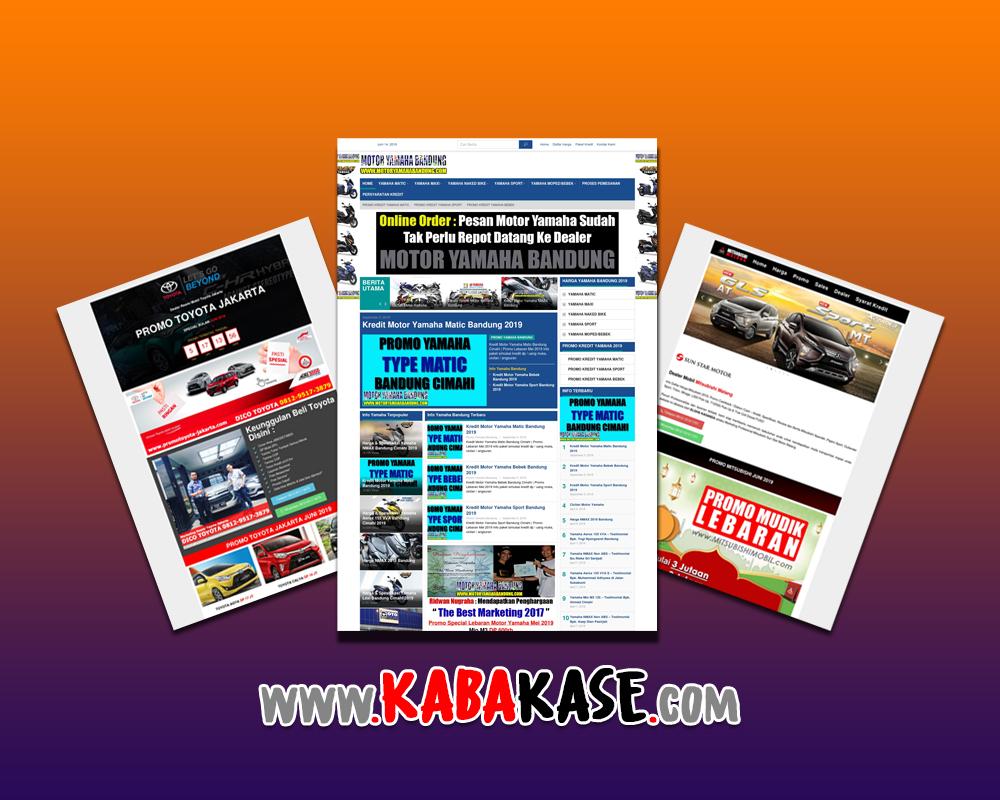 jasa website mobil motor indonesia