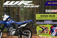 booking online yamaha wr 155 r indonesia