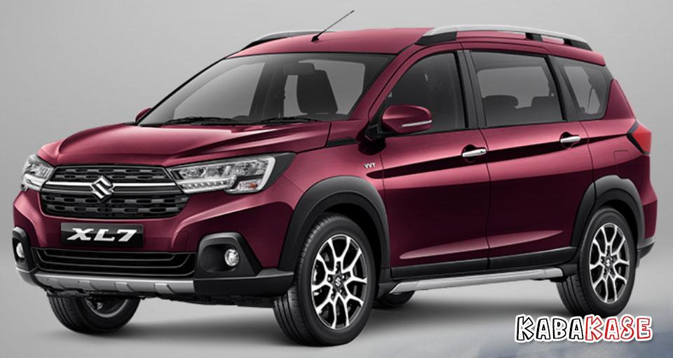 Suzuki XL7 burgundy