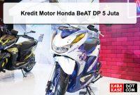 Kredit Motor Honda BeAT DP 5 Juta