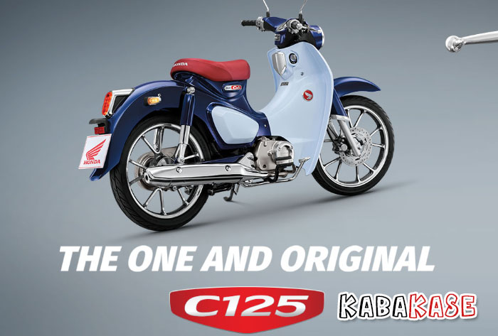 Warna Honda Super Cub C125 Terbaru