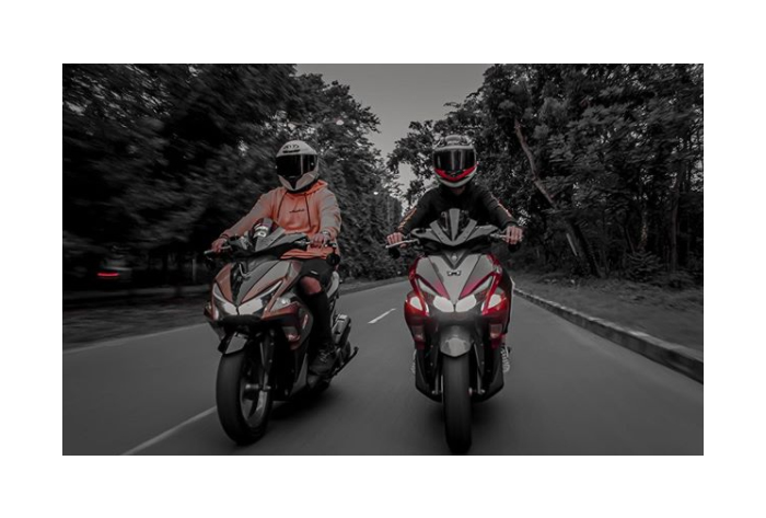 Picture Yamaha Aerox 155cc