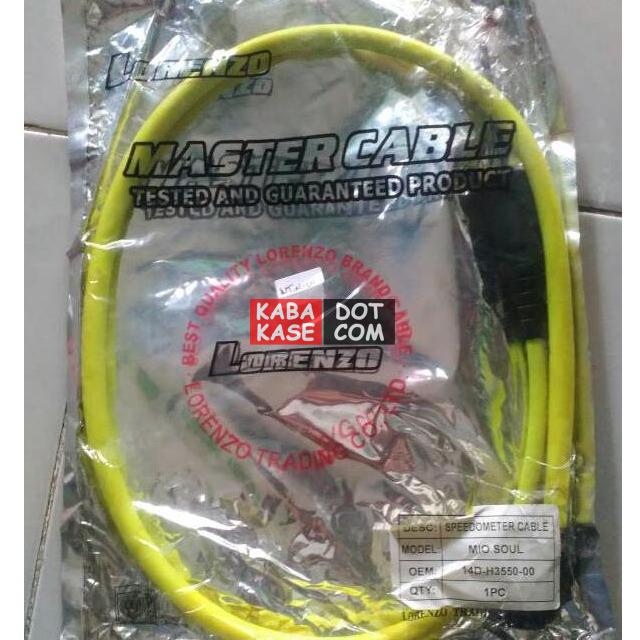 kabel speedometer mio warna kuning