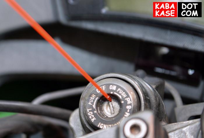 kawasaki kunci klx