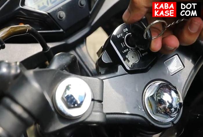 kunci motor klx