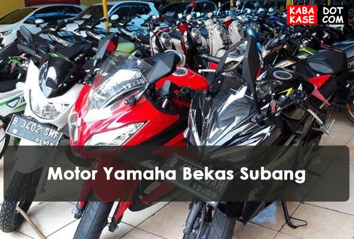 Motor Yamaha Bekas Subang