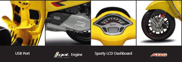 Daftar Harga Motor Piaggio Vespa Sprint Bali