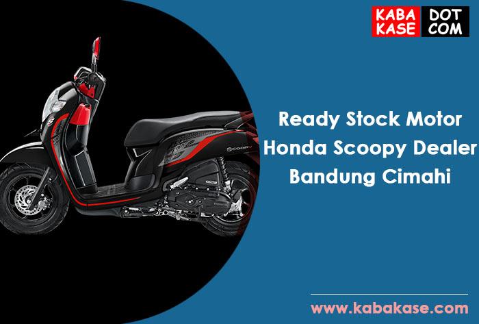 Ready Stock Motor Honda Scoopy Dealer Bandung Cimahi terbaru