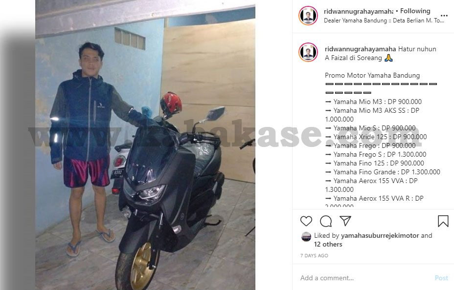 Faisal Yamaha NMAX Soreang Kabupaten Bandung