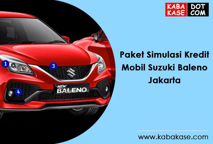 Paket Kredit Suzuki Terbaru Baleno di Jakarta