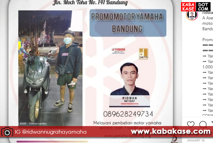 Yamaha NMAX Moch. Toha Bandung