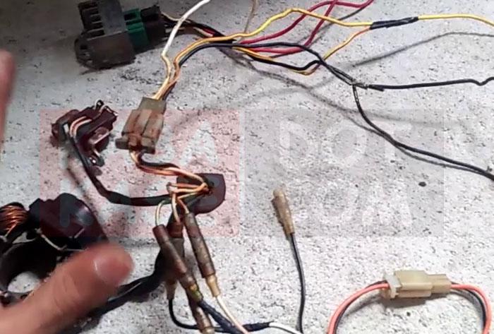 Kabel Crypton Motor