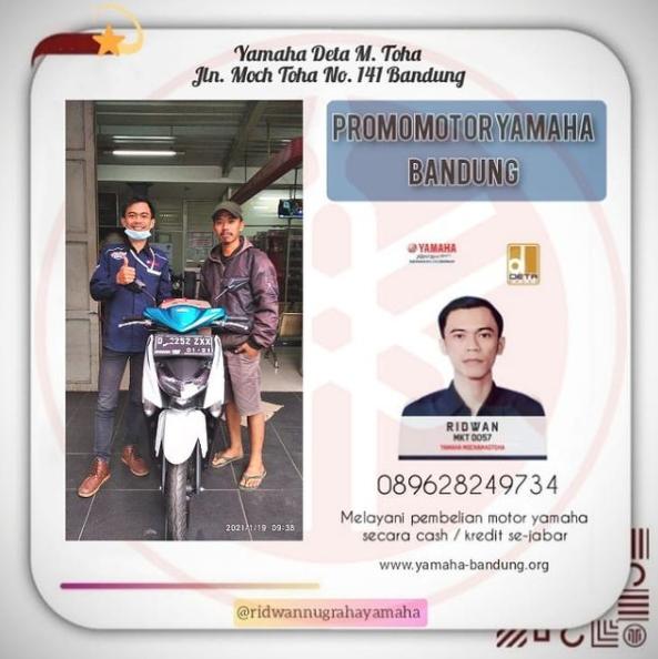 Yamaha Gear 125 Mengger Bandung