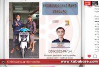 Pengiriman Motor Yamaha Gear 125 – Bapak Yanto di Mengger Bandung