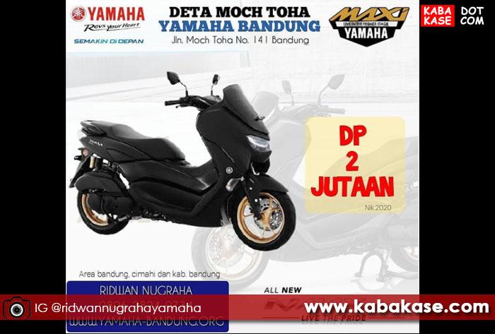 Yamaha NMAX Cuci Gudang