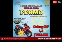 Promo CUCI GUDANG Unit 2020 Yamaha Aerox 155 DP Cukup Bayar 1,3 Jutaan, Khusus Warga Bandung & Cimahi