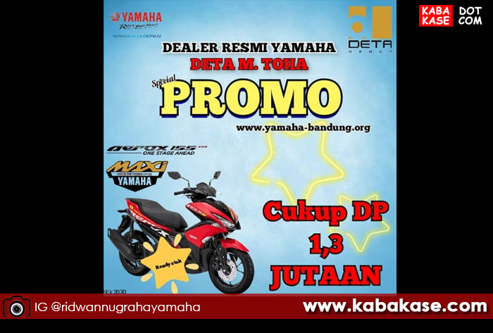 Yamaha aerox 155 cuci gudang 2020