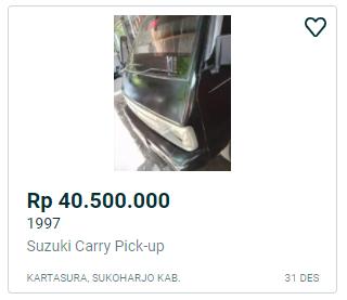 carry pickup 40 jutaan 1997 sukoharjo