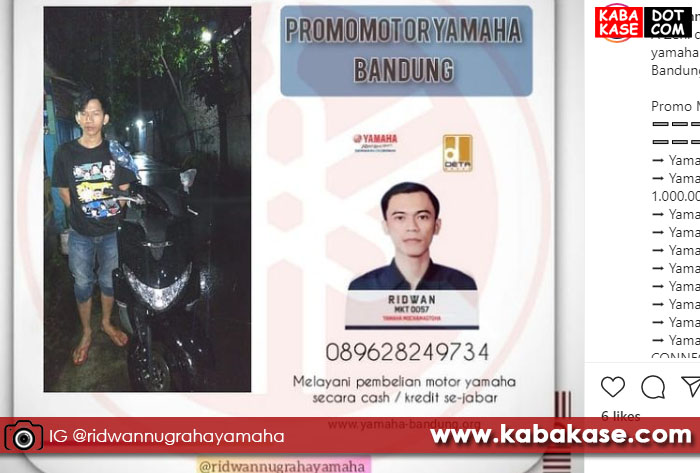 Yamaha Freego Caringin