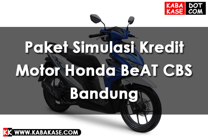 Honda BeAT CBS Bandung Cimahi