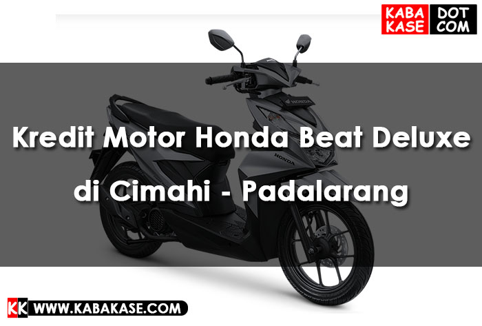 Honda BeAT Deluxe Kredit di Cimahi