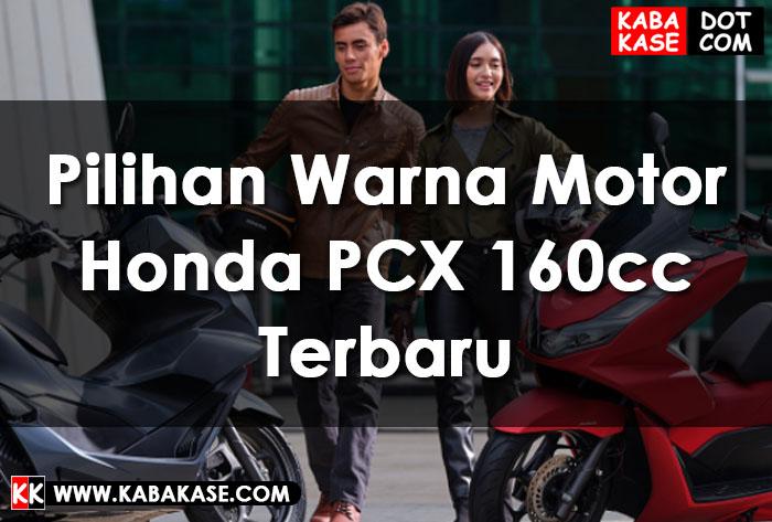Honda PCX Warna Terbaru