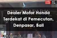 Honda Pemecutan Bali