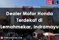 Dealer Motor Honda Terdekat di Lemahmekar, Indramayu
