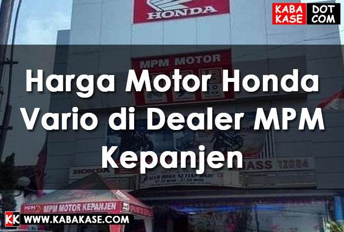 Info Harga Motor Honda Vario di Dealer MPM Kepanjen