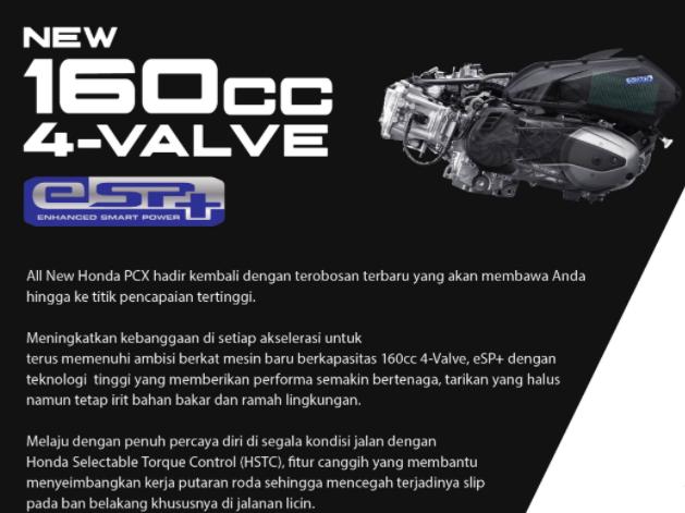 Performa PCX 160cc