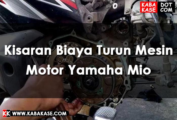 Turun Mesin Yamaha Mio