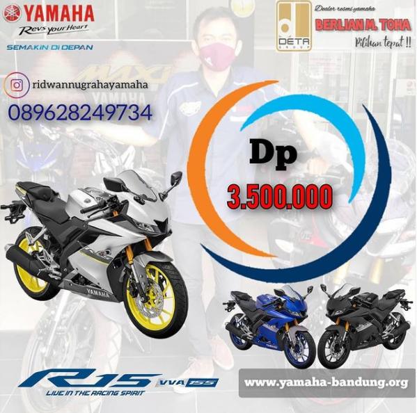 promo yamaha r15 bandung februari 2021