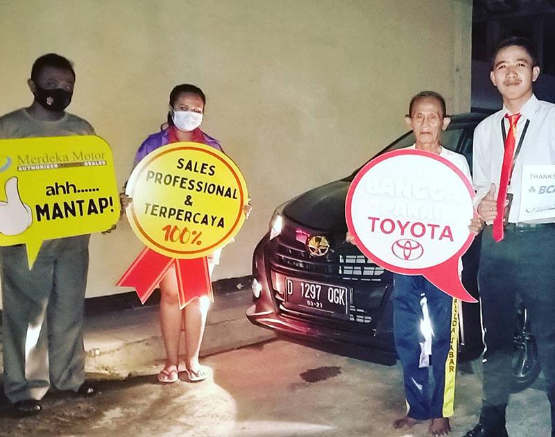 Rengga Kirim Mobil Toyota Bandung