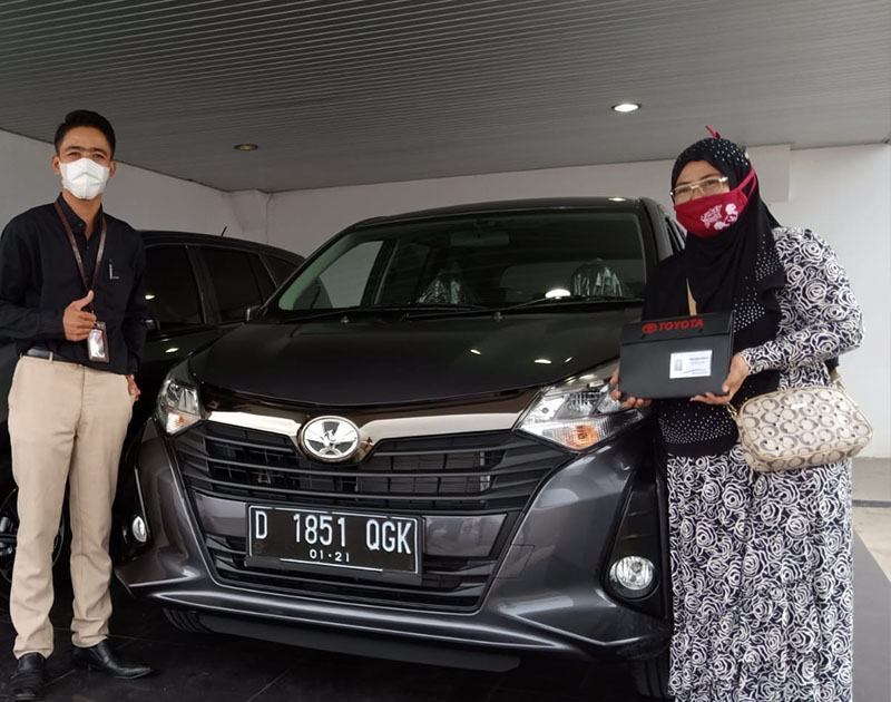 Rengga Kirim Mobil Toyota Calya Bandung