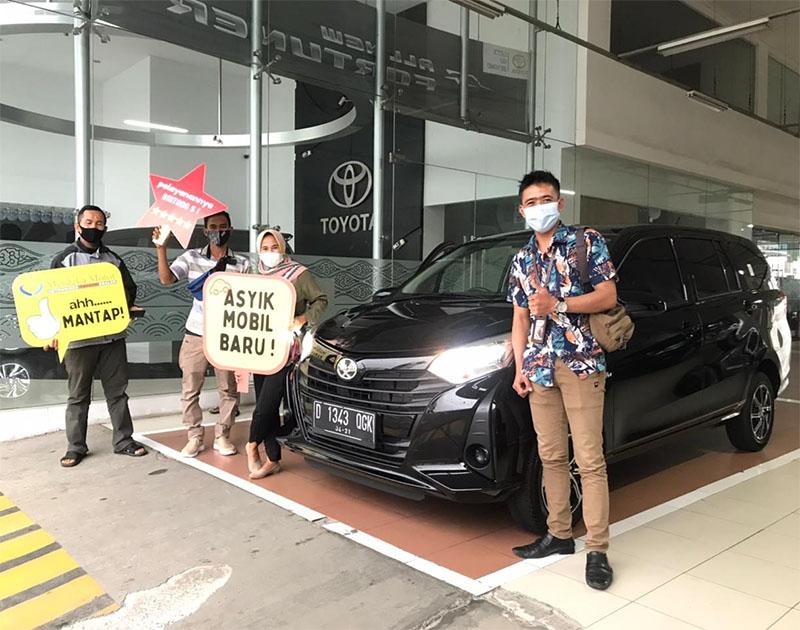 Rengga Kirim Mobil Toyota Calya Hitam Bandung