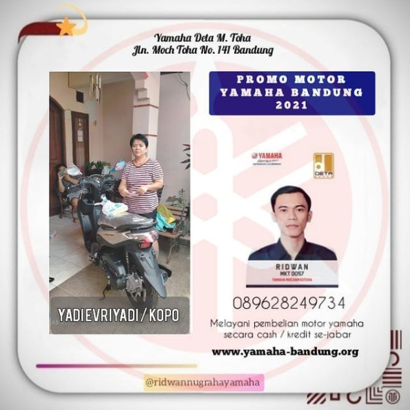 Promo Yamaha Bandung April 2021