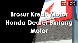 Brosur Kredit Motor Honda Dealer Bintang Motor Terbaru