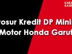 Brosur Kredit DP Minim Motor Honda Garut