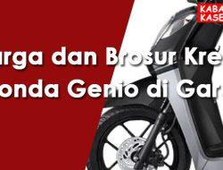 Harga dan Brosur Kredit Honda Genio di Garut