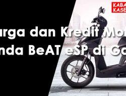 Harga dan Kredit Motor Honda BeAT eSP di Garut