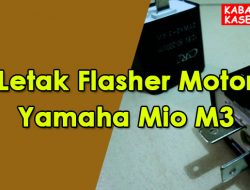 Letak Flasher Motor Yamaha Mio M3