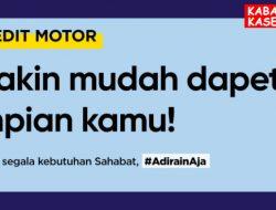 Brosur Kredit Motor Honda Leasing Adira Finance
