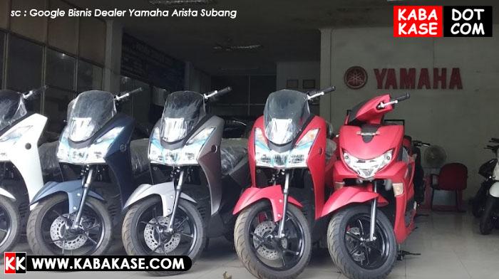 Dealer Yamaha Arista di Daerah Subang